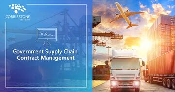 Improve government supply chain contract management with CobbleStone Software.