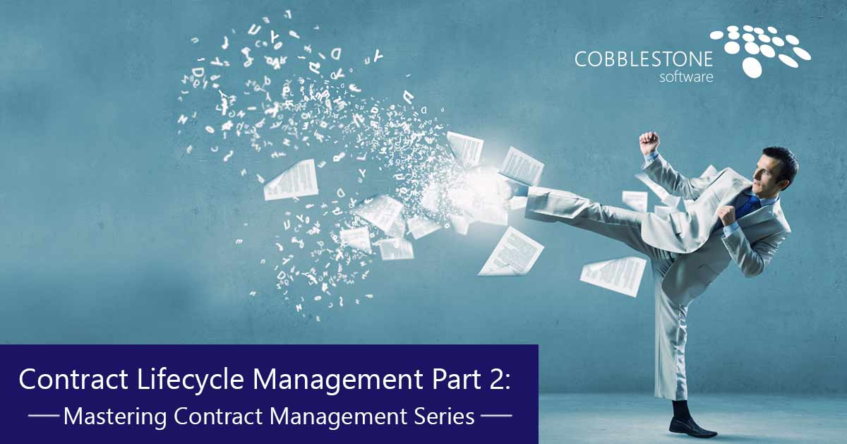 CobbleStone Software contract lifecycle management.
