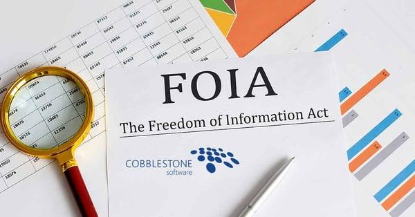 CobbleStone Software streamlines FOIA request management and public access.