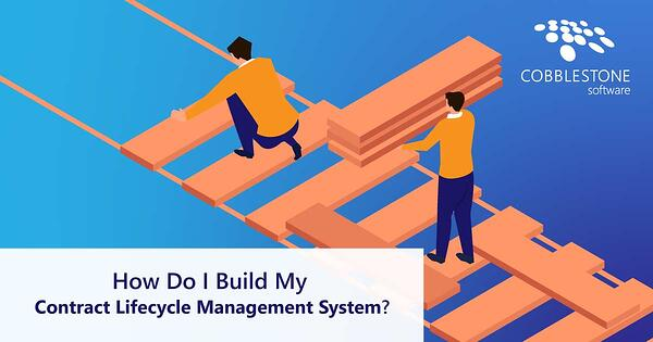 CobbleStone Software helps you to build your contract lifecycle management system.