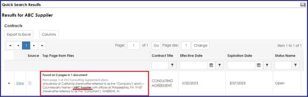 CobbleStone Software quick search preview file.