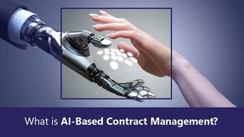 CobbleStone Software explains AI-based contract management.