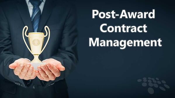 Improve post-award contracting with CobbleStone Software