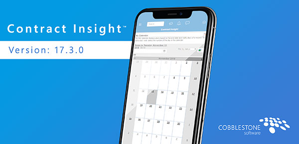 Contract Insight™ Version 17.3.0