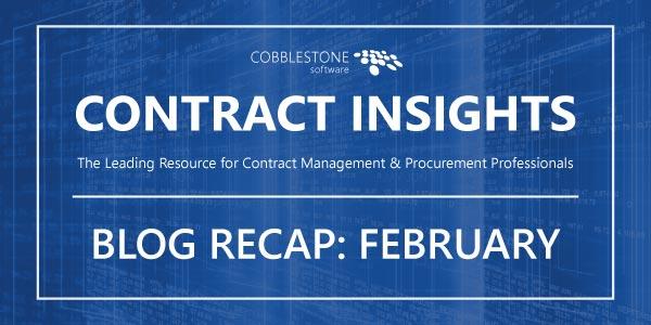 CobbleStone Blog Recap February 2019