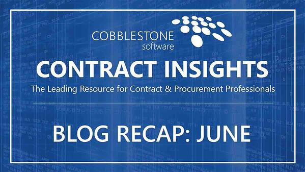 CobbleStone Software Blog Recap June 2019