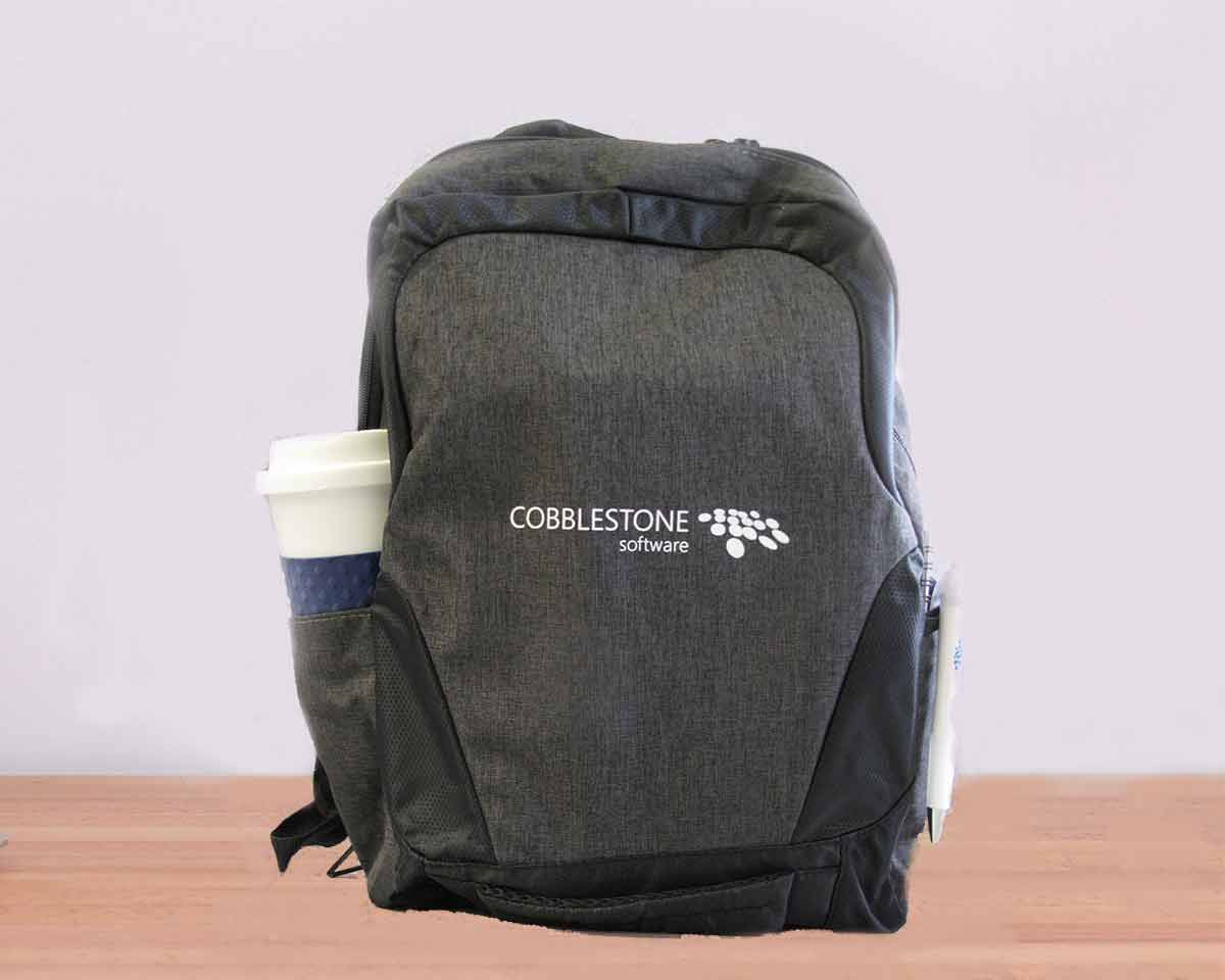 CobbleStone Software Charger Backpack Giveaway