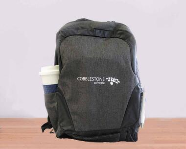 CobbleStone Software Charger Backpack