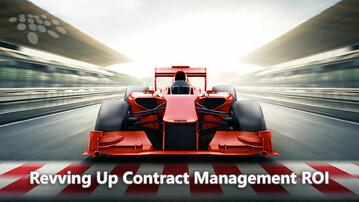 It's time to improve your contract management ROI