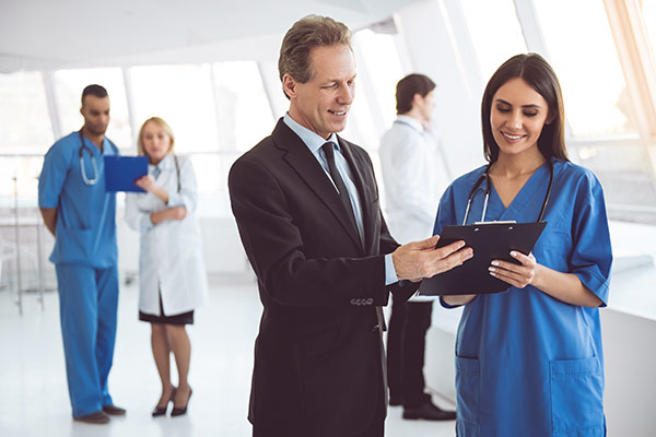 Healthcare contract management software