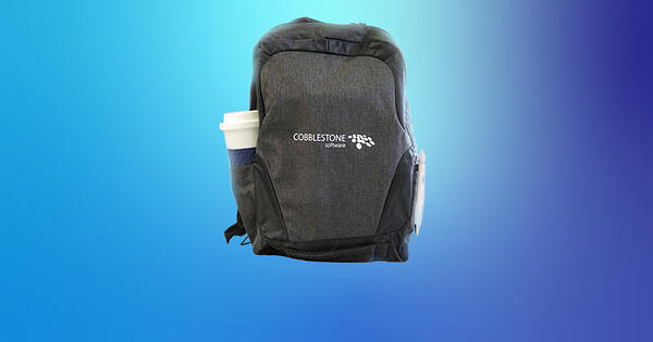 Enter to win a tech backpack from CobbleStone at ACC Solutions Expo.