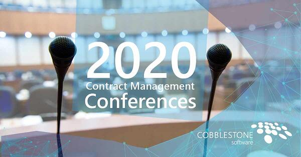 Plan ahead to attend these 2020 contract management conferences.