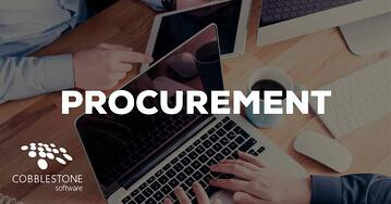 CobbleStone can help organizations improve procurement.