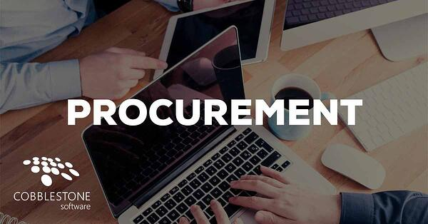 CobbleStone eProcurement Software can help in 2020.