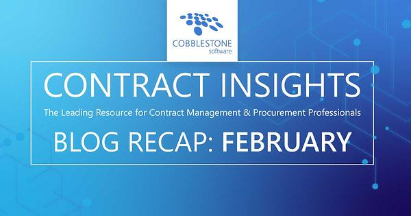 Read CobbleStone Software's February 2020 blog articles.