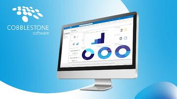 CobbleStone Software's Executive Graphical Dashboards for improved contract analysis.