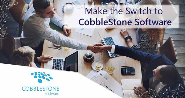 See why more companies switched to CobbleStone Software.