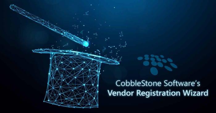 CobbleStone Software can streamline vendor management with vendor registration wizards.