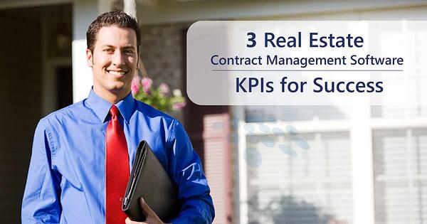 CobbleStone Software offers three real estate contract management software KPIs for success.