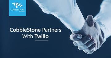 CobbleStone Software partners with Twilio for advanced CLM authentication.