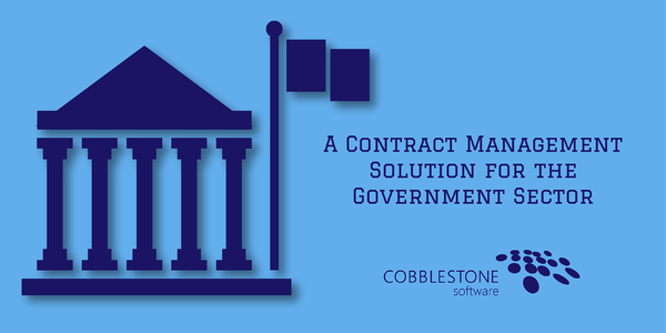 CobbleStone Systems Contract Management Software Government Contract Management Solutions