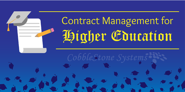 Contract Management for Higher Education