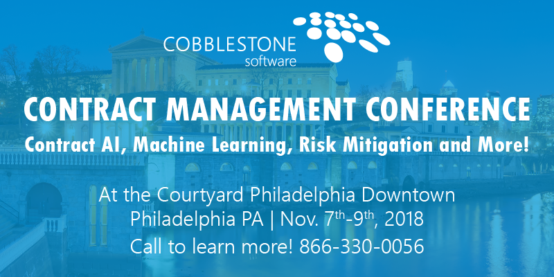 Contract Management Conference 2018