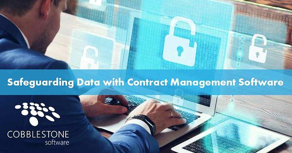 AI-based contract management software can safeguard sensitive data.