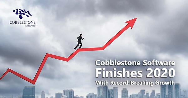 CobbleStone Software has finished 2020 with record-breaking growth.