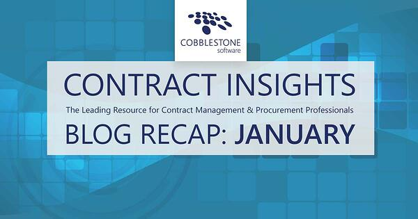 CobbleStone Software presents its January 2021 blog recap.
