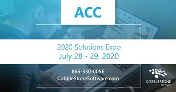 CobbleStone exhibited at the 2020 ACC Solutions Expo.