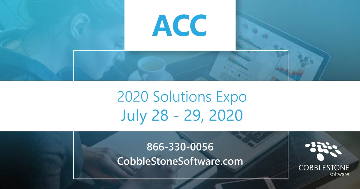 CobbleStone is presenting at the 2020 ACC Solutions Expo.