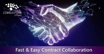 CobbleStone helps enhance contract collaboration.