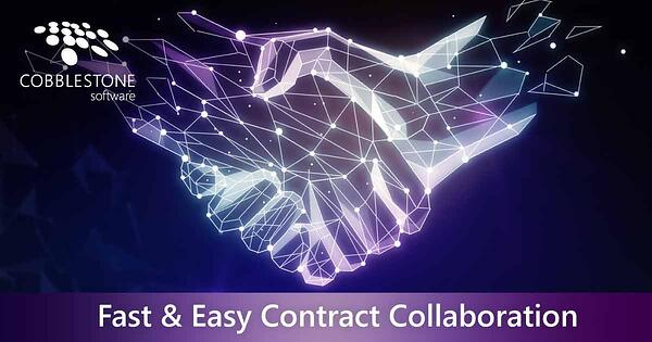 CobbleStone supports fast and easy contract collaboration.