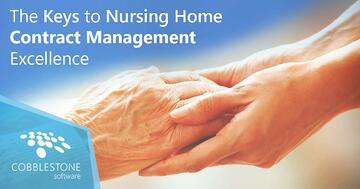 CobbleStone helps with nursing home contract management.
