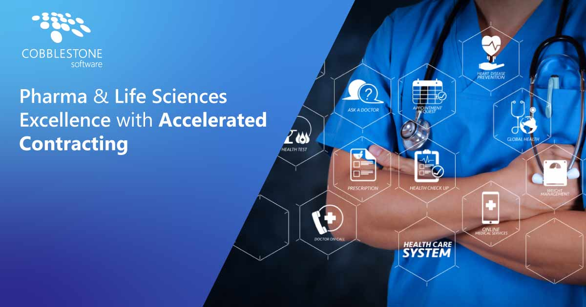 CobbleStone Software offers accelerated Pharma & Life Sciences contract management.