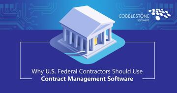 CobbleStone offers contract management for federal contractors.