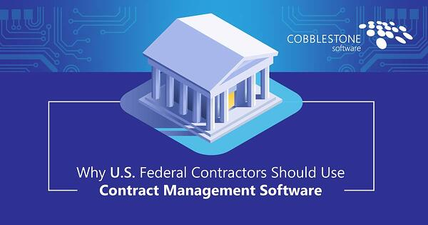 CobbleStone Software helps U.S. federal contractors with their processes.
