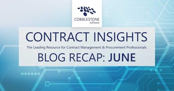 CobbleStone Software presents its June 2021 blog recap.