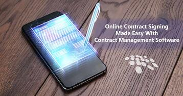 CobbleStone Software showcases how to make online contract signing easy.