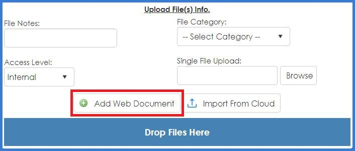 CobbleStone Software Filedrop for online document editing.