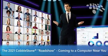"""CobbleStone Software details what attendees can expect at The 2021 CobbleStone """"Roadshow."""""""