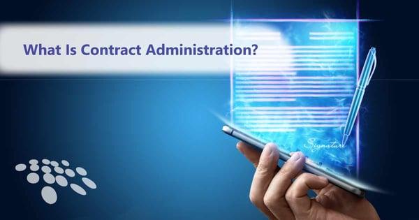 CobbleStone Software explains contract administration.