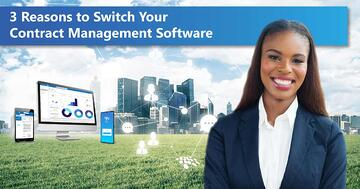 Discover 3 reasons to switch contract management software.