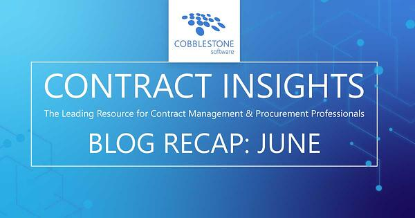 Read CobbleStone's June 2020 blog recap.