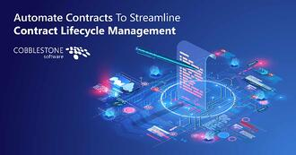 CobbleStone Software explains how to automate contracts for streamlined contract lifecycle management.