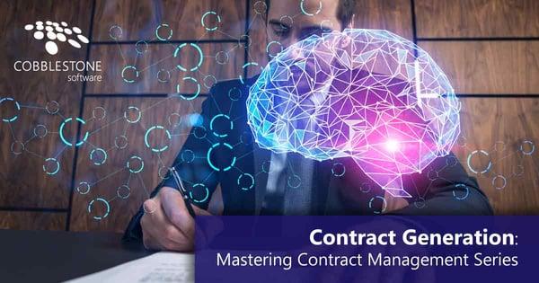CobbleStone Software improves contract generation processes.