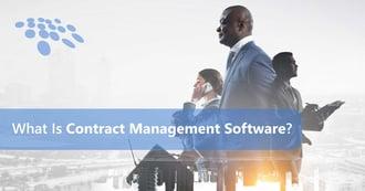 CobbleStone Software explains what contract management software is.