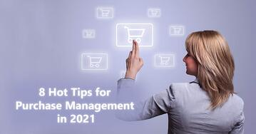 CobbleStone Software offers eight hot tips for streamlined and centralized purchase management in 2021.