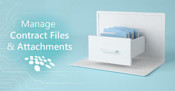 CobbleStone Software showcases how contract files and attachments can be efficiently managed with contract management software.